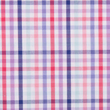 Load image into Gallery viewer, Bold Blue Red and Pink Large Check Pattern