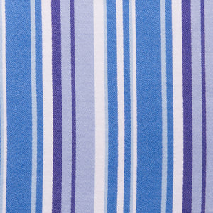 Bold Blue and Purple Contrast Stripe