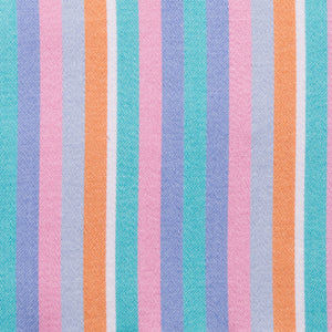 Bold Miami Vice Multi Color Stripe