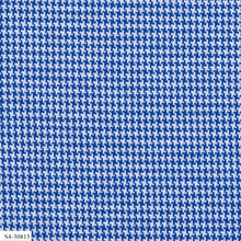Load image into Gallery viewer, Sharp Blue Pattern Stretch Knit Cotton