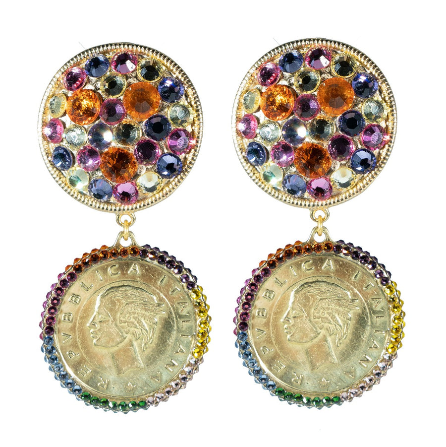 Blanshé Candy Coin Earrings
