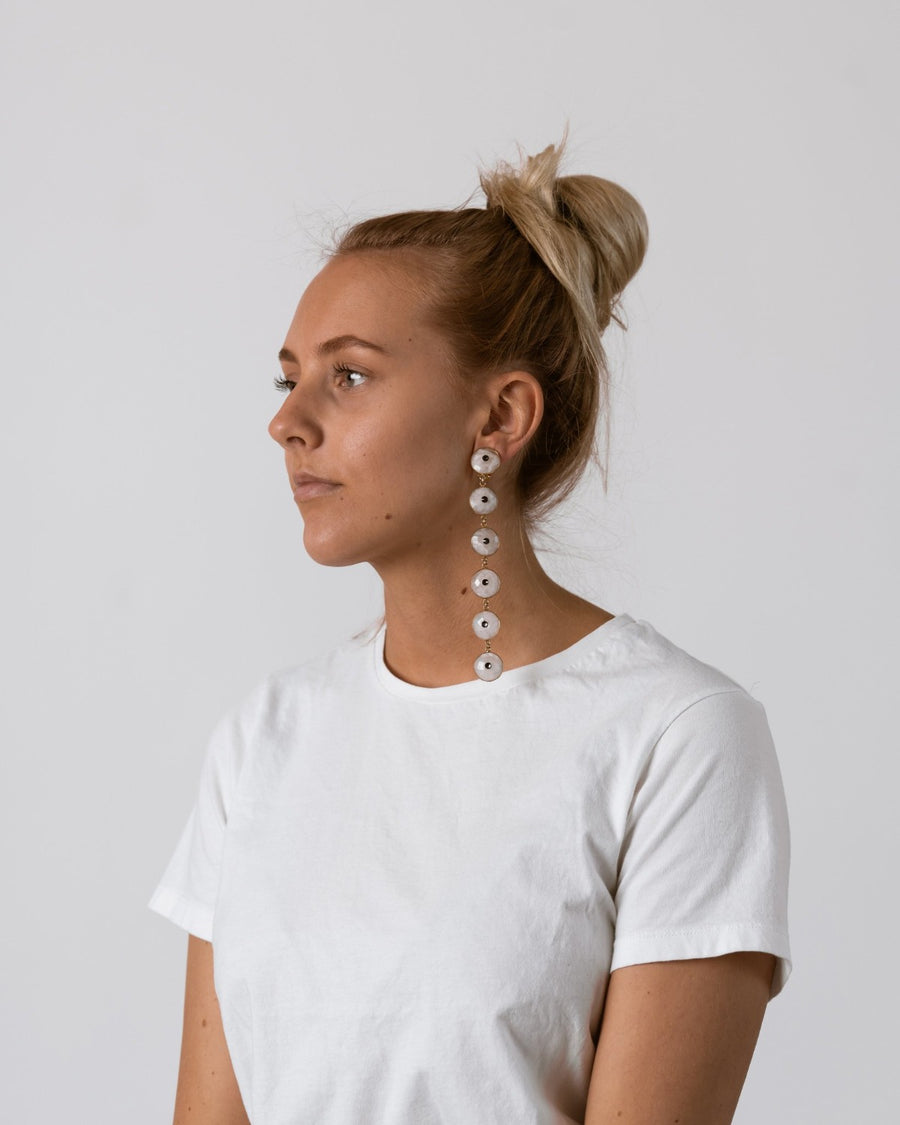 Moonstone Copenhagen Earrings