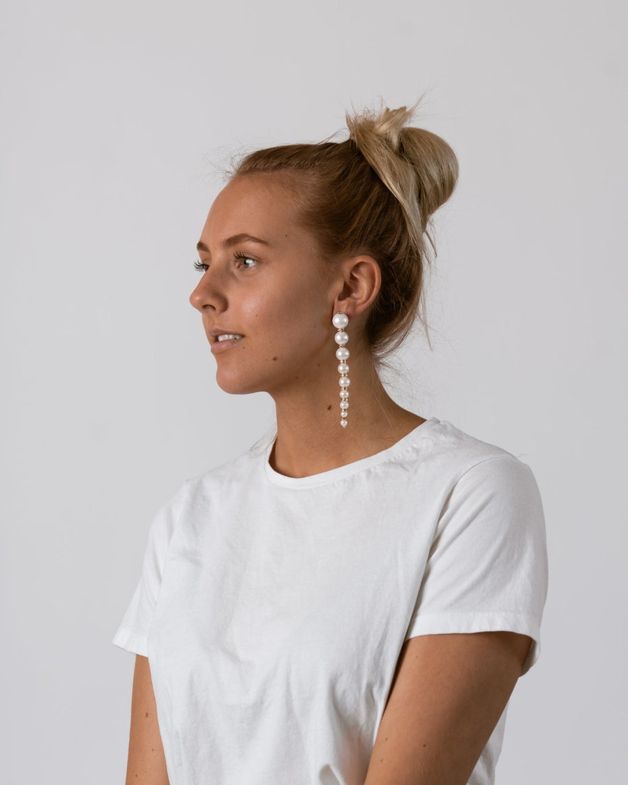 Pearl Sorrento Earrings