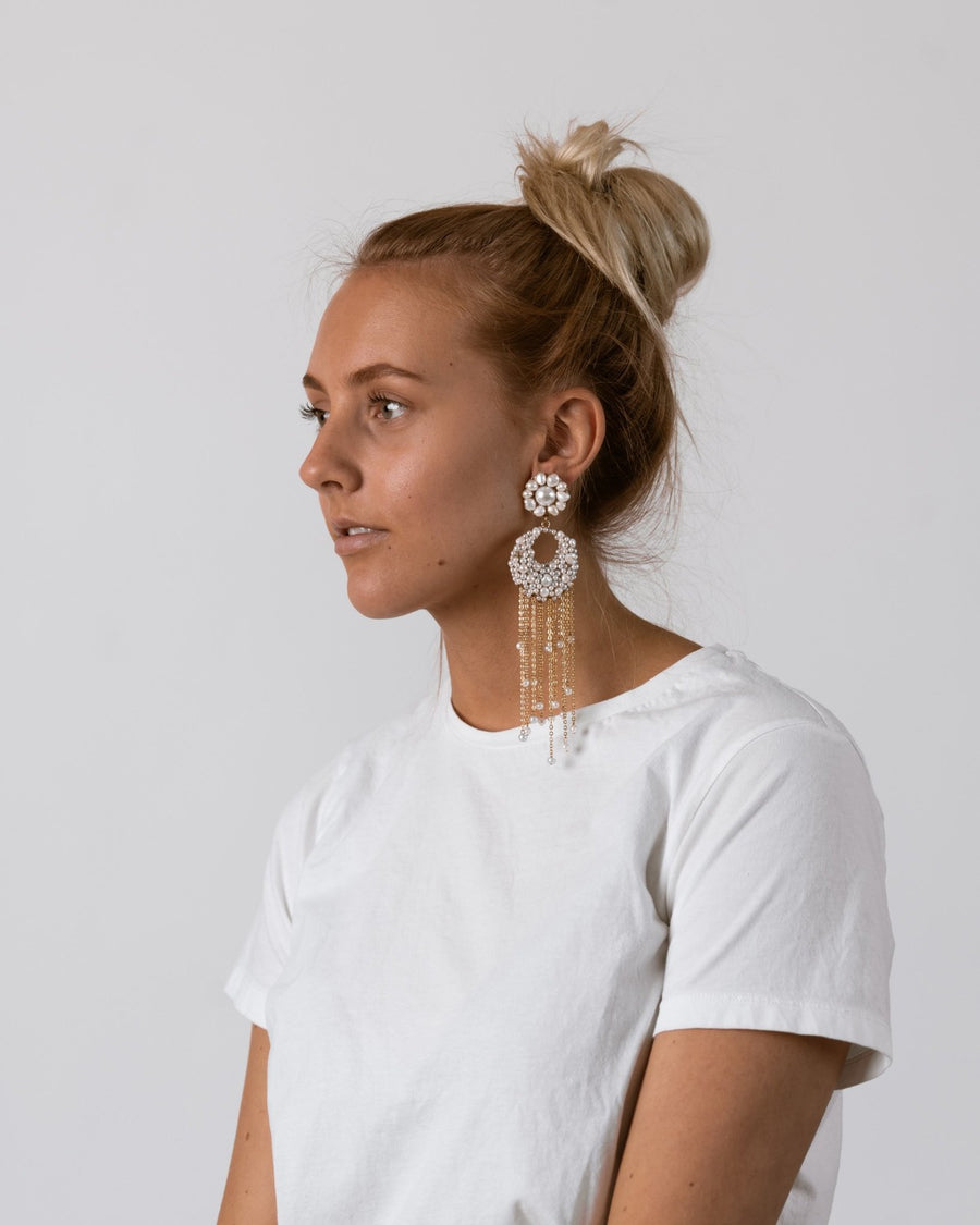 Pearl Somalia Earrings