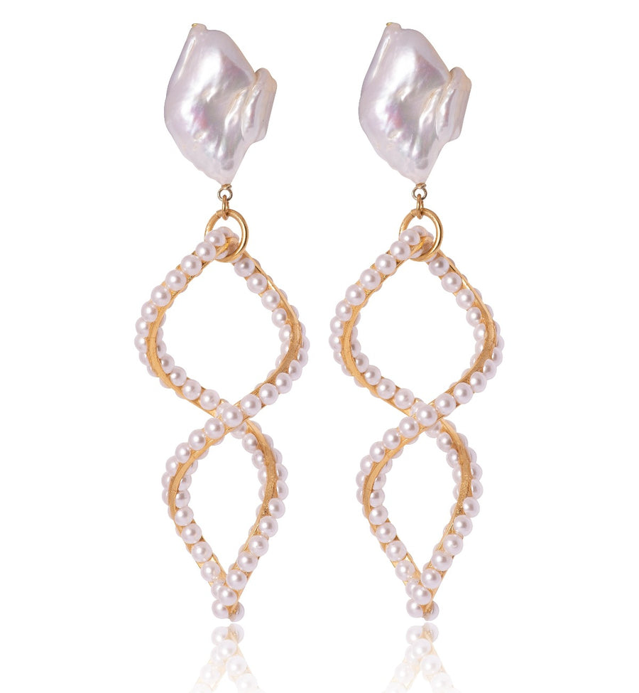 Pearl Portofino Earrings