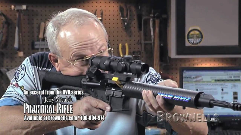 AR Shooting Tip: Best Stance for Accuracy - Jerry Miculek - NSSF Shooting Sportscast
