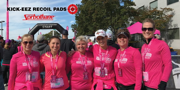 KICK-EEZ® Represents at the Girlfriends Run for the Cure