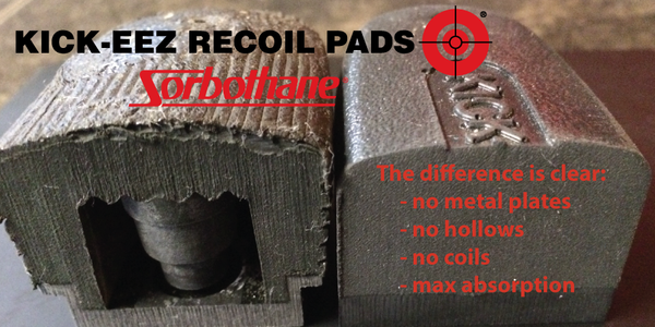 KICK-EEZ Rifle Recoil Pads