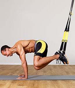 TRX pro pack bodyweight suspension trainning resistance bands. Home workout. Door gym.