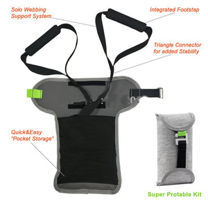 Travel TR X FIT suspensin trainer. Pocket TR X home training. Supension trainer straps