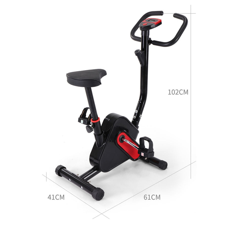 Stationary Bike Stand. Home Bike Exercise. Stationary Bicycle training.