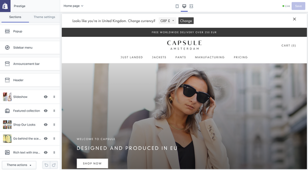 The technology behind Capsule Studio