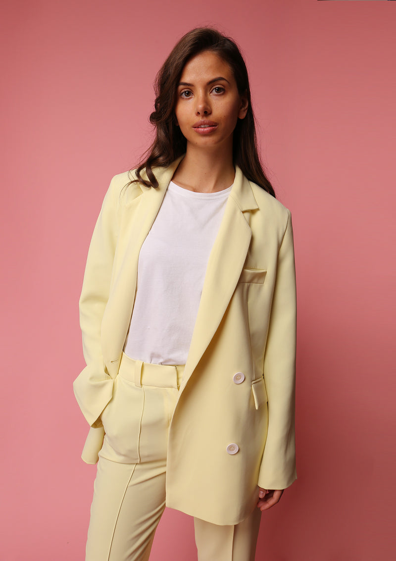 SS20 Jacket Lemon Yellow