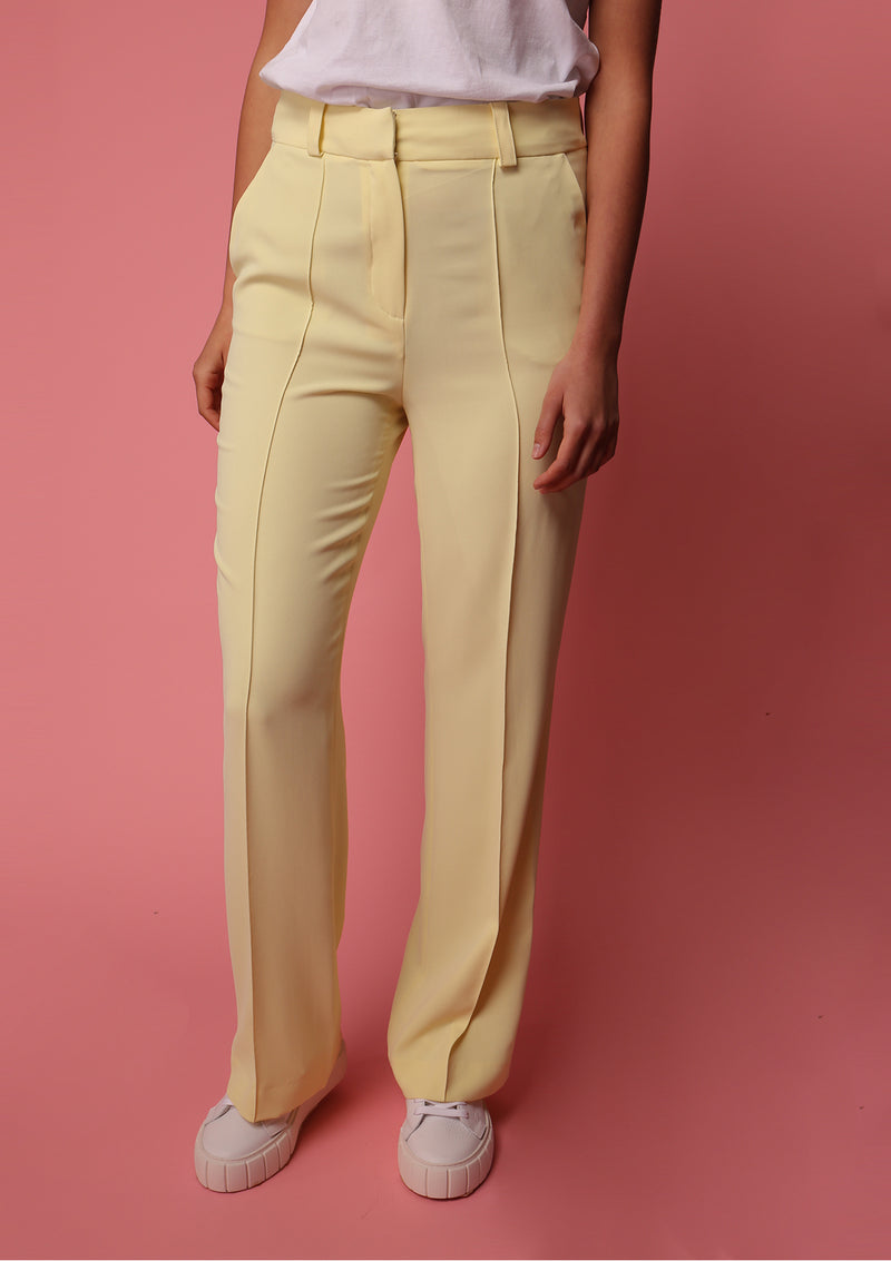 SS20 Pants Lemon Yellow