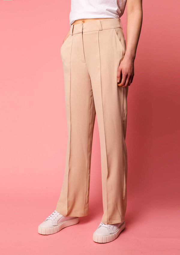 Almond Beige Pants