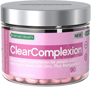 Nature's Bounty, ClearComplexion, 90 Softgels
