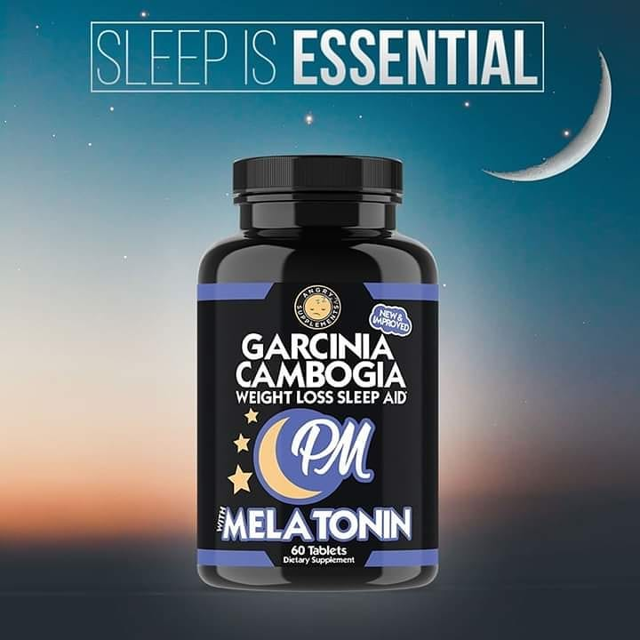 Helps sleepy, fast sleep, reduced weight - Melatonin and Garcinia Extract (Made in USA)