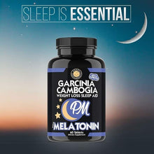 Load image into Gallery viewer, Helps sleepy, fast sleep, reduced weight - Melatonin and Garcinia Extract (Made in USA)