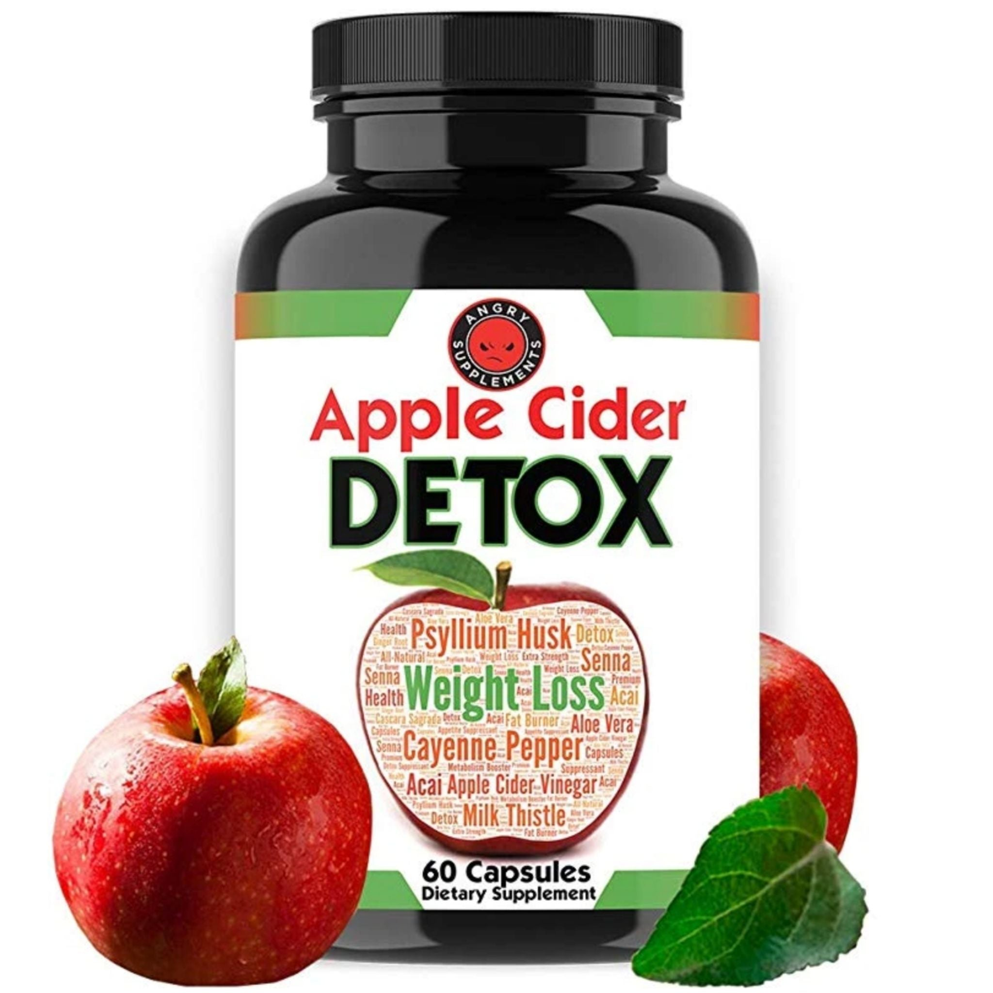 Helps excretion Eliminate waste in the intestines Reducing constipation - Apple Cider Detox (Made in USA)