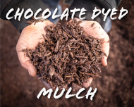 Chocolate Dyed Mulch
