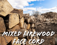 Mixed Firewood Face Cord