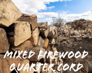 Mixed Firewood Quarter Cord