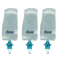 Hand sanitiser dispenser | Dew refill packs