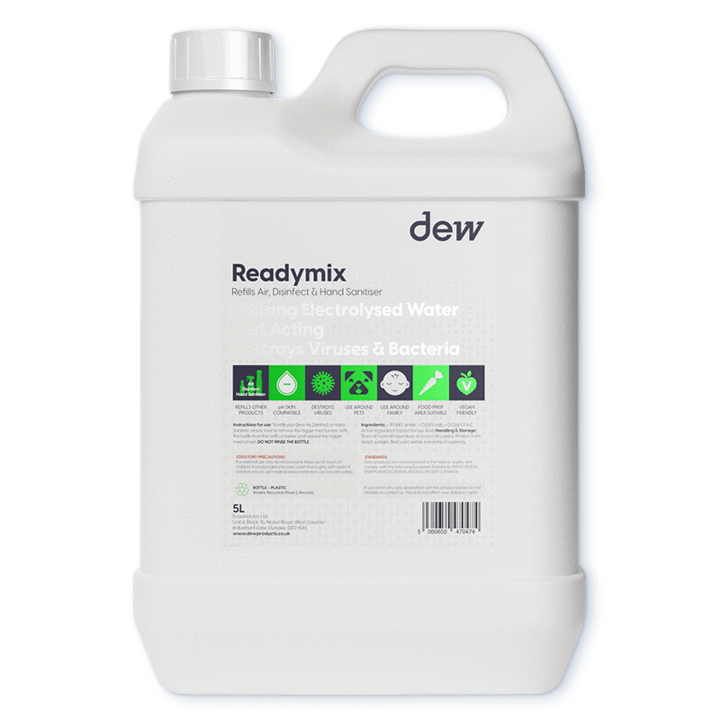 Ready Mix Blue Refill 5L (For Sanitising Products)