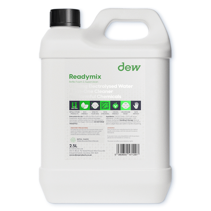 Ready Mix Green Refill 2.5L (For Cleaning Products)