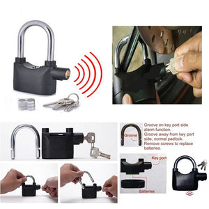 High Reinforced Padlock (Loud Siren) - E-flow Online