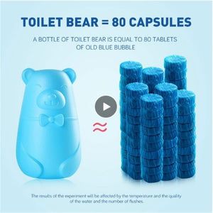 180 Day Toilet Cleaning Bear - E-flow Online