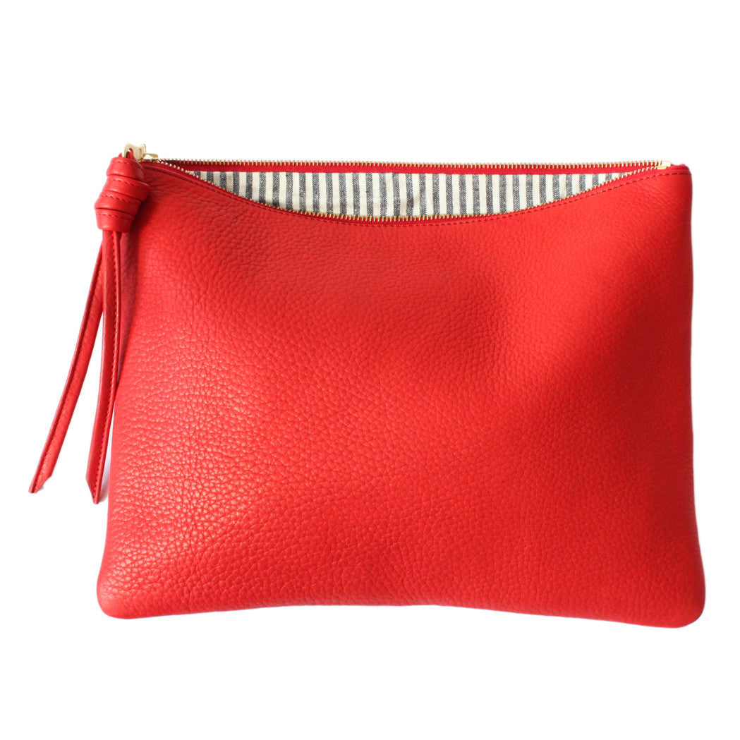 rennes Red Pouch Large 003