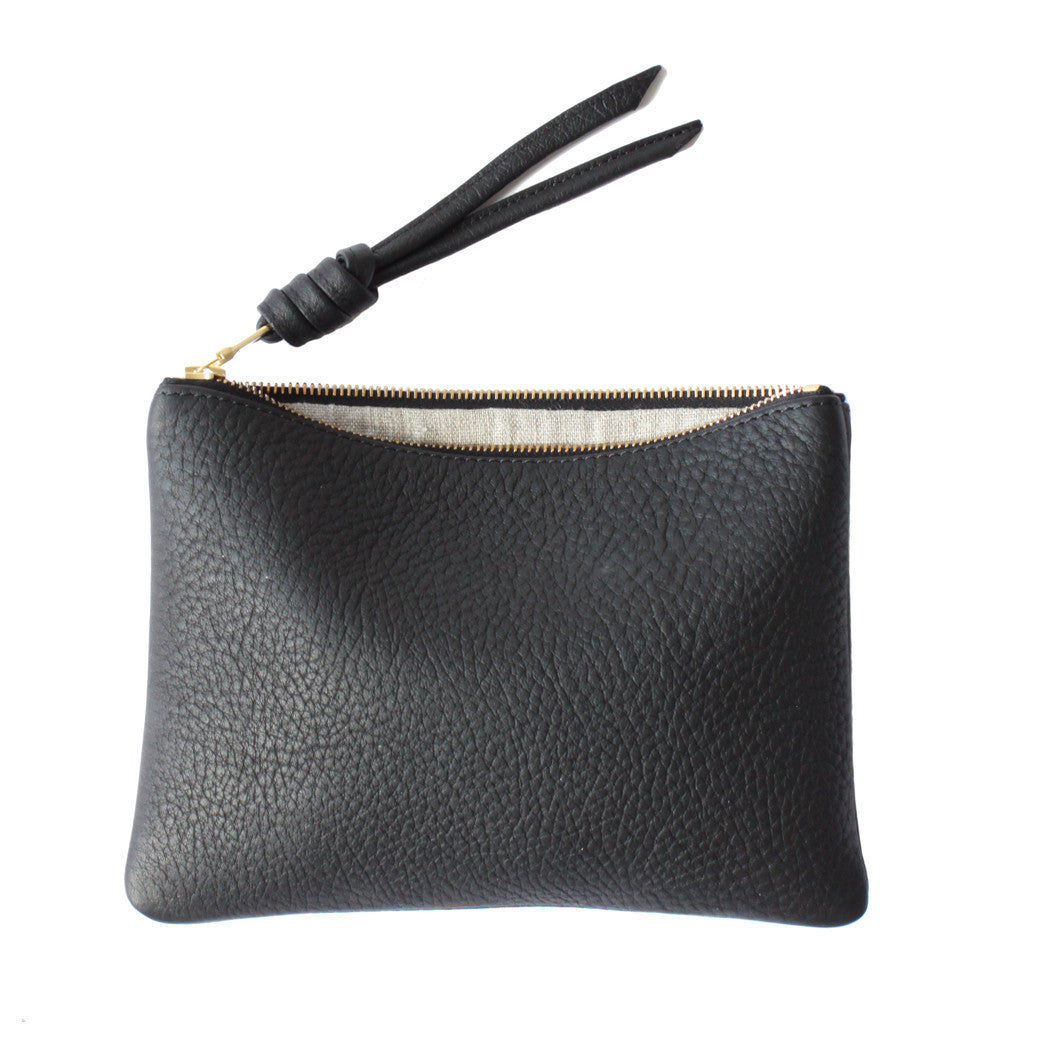 rennes Black Pouch Medium 002