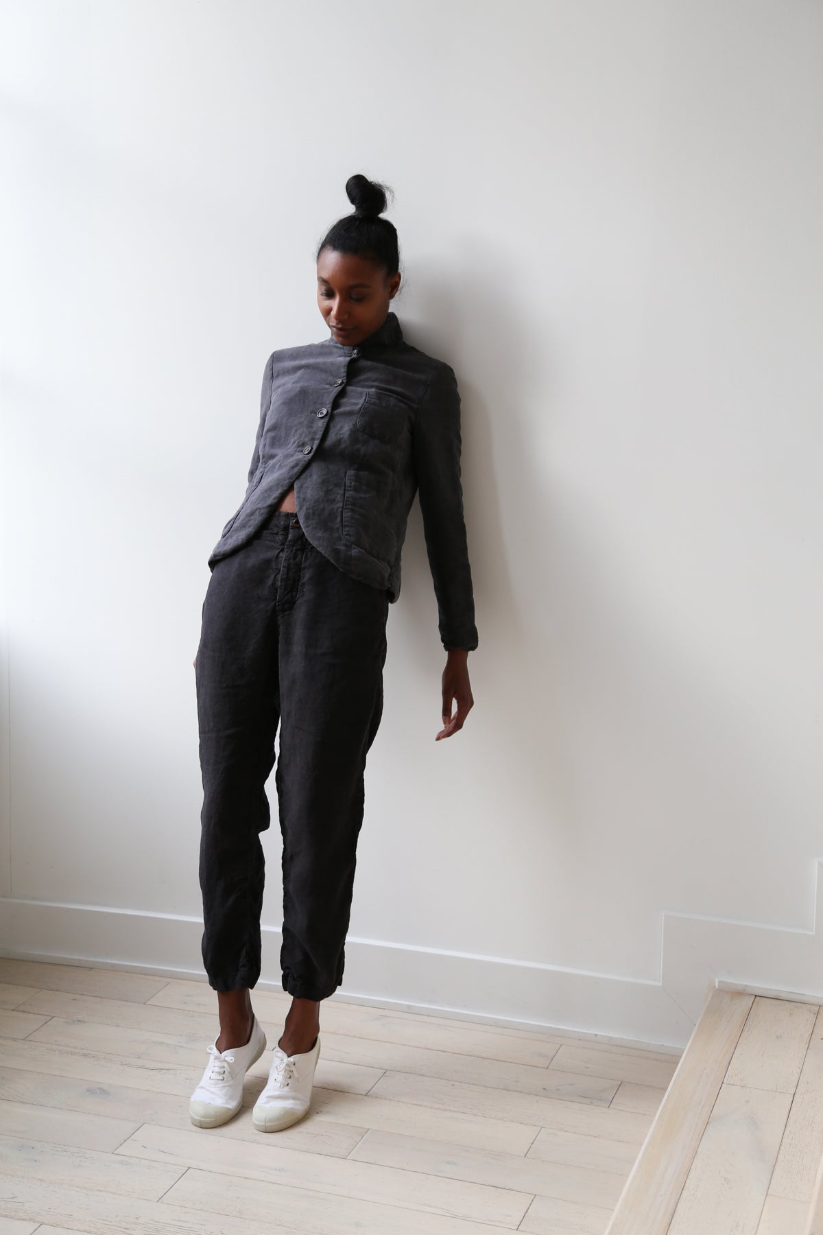 Samuel Snider City Pant Charcoal