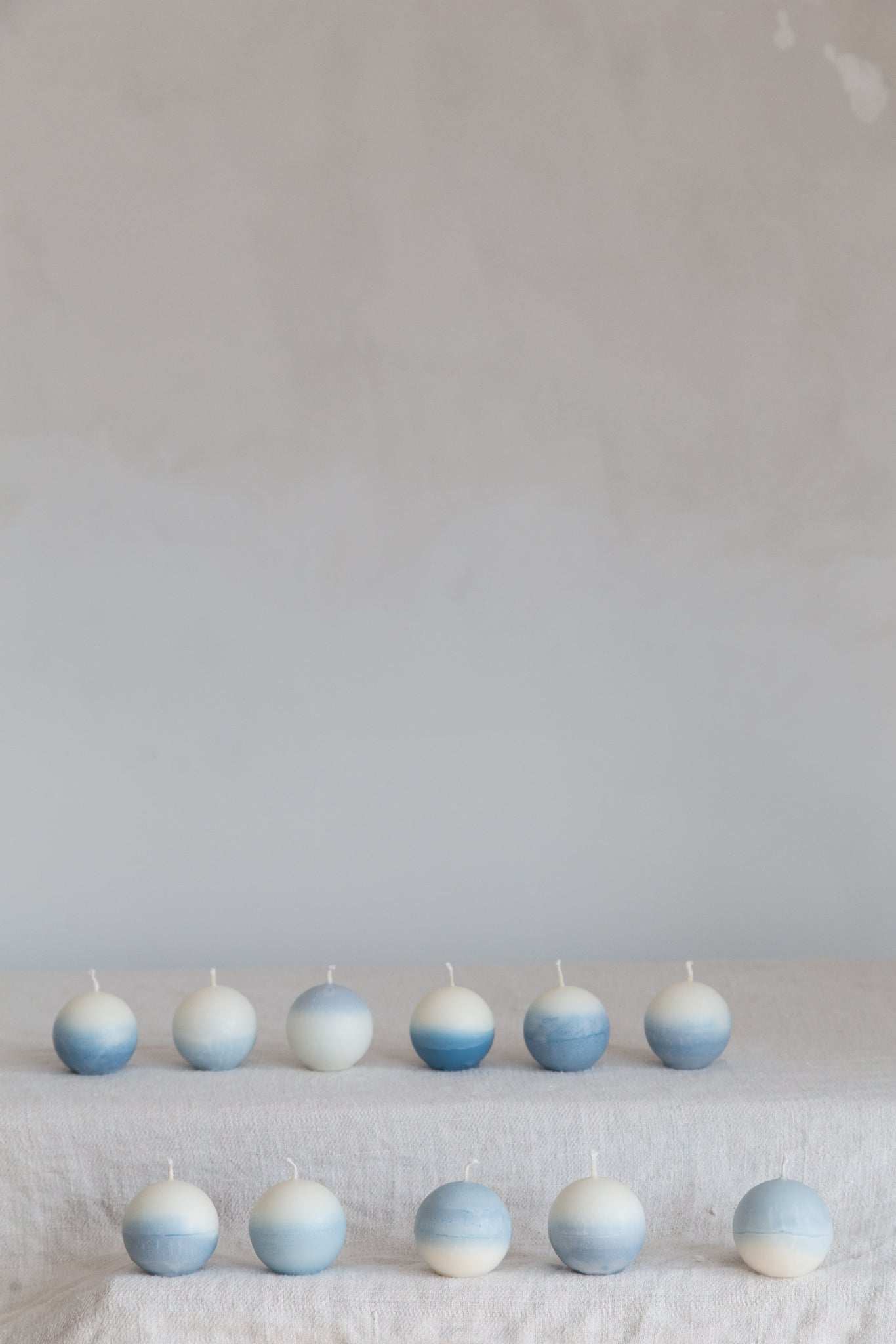Blue Pearl Candle