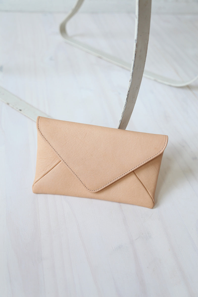 rennes Milo Wallet tan
