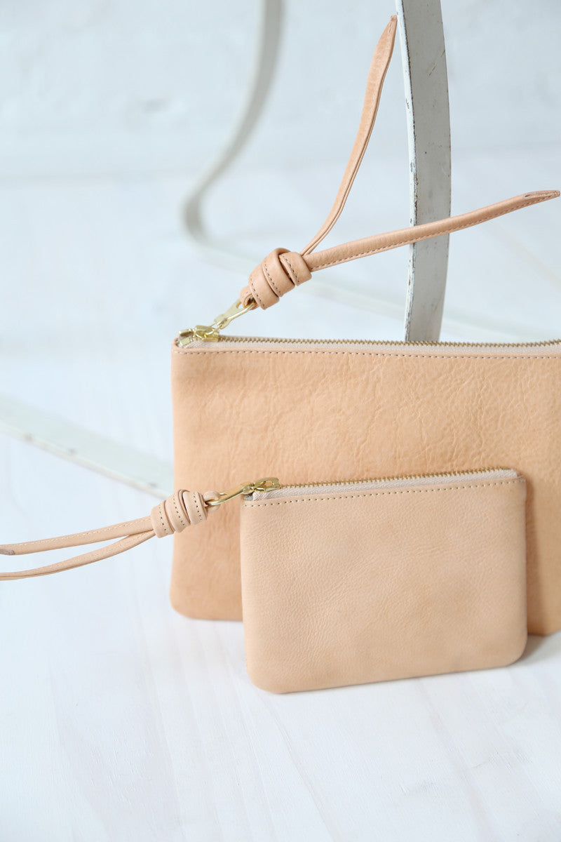 rennes Tan Pouch Small 001