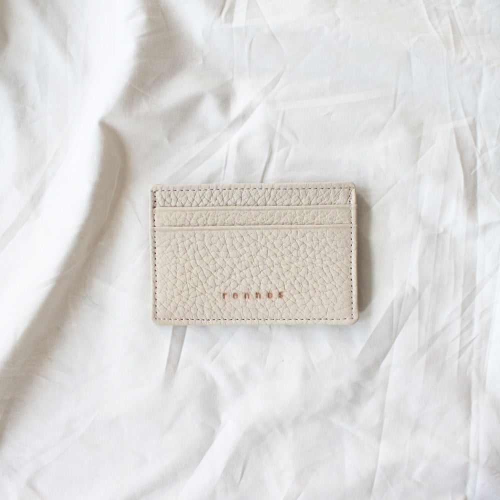 rennes Card Wallet Cream