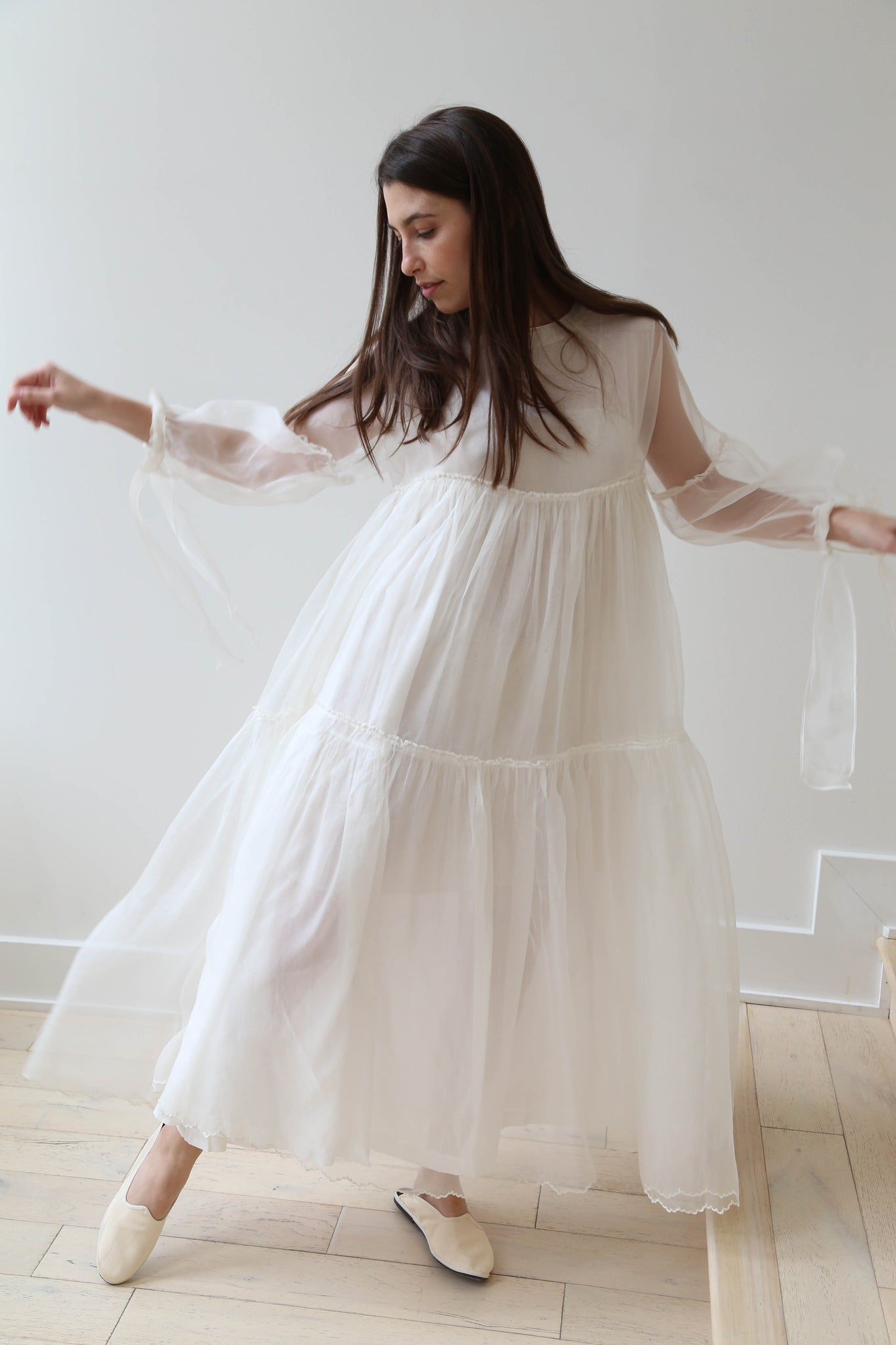Khadi & Co Madrid Dress White