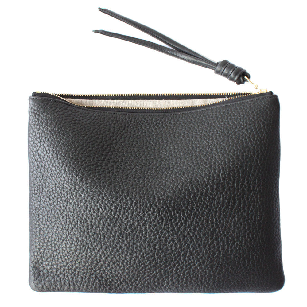 rennes Black Pouch Large 003