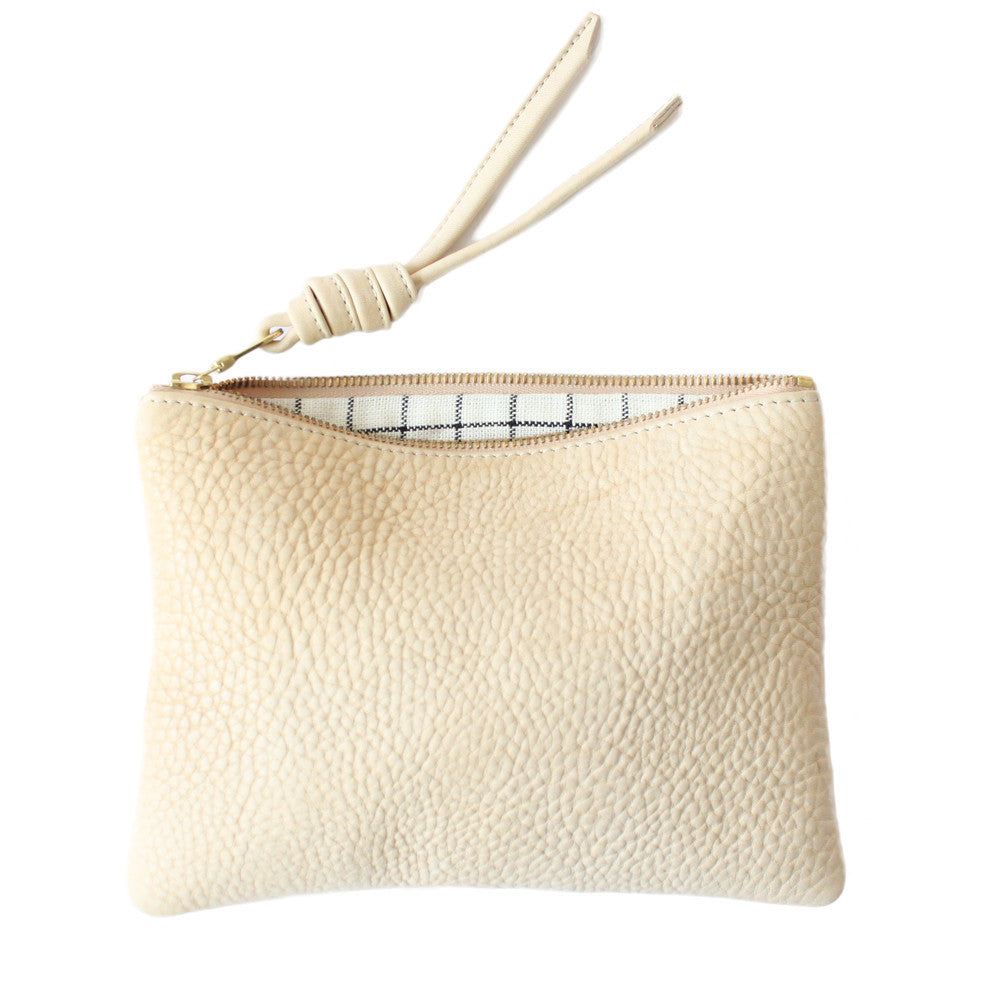 rennes Cream Pouch Medium 002