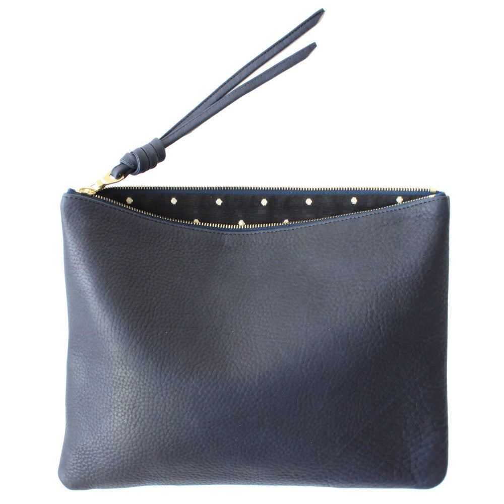 rennes Navy Pouch Large 003
