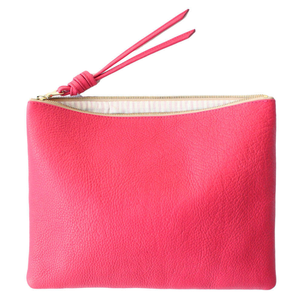 rennes Pink Pouch Large 003