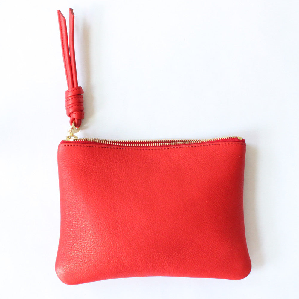 rennes Red Pouch Medium 002