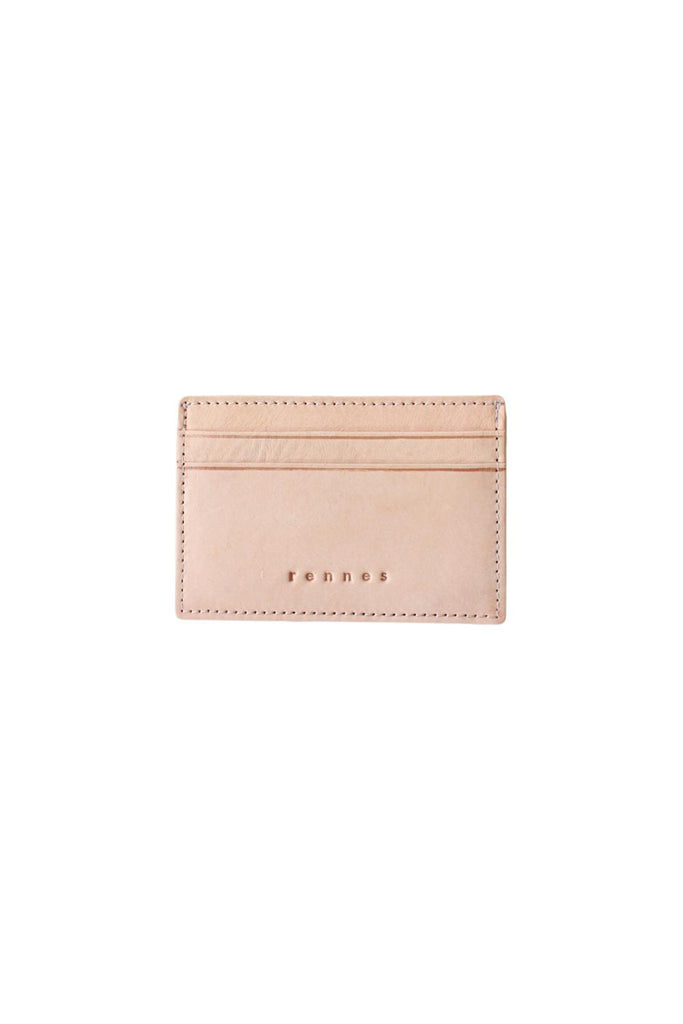 rennes Card Wallet Tan