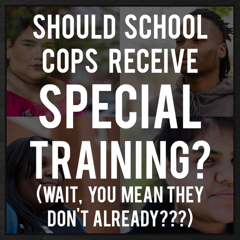 Free Breakfast Apparel - The Blog - Special Training for School Cops