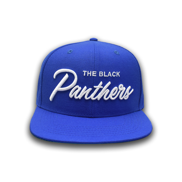 The Black Panthers Snapback - Blue Rally Edition - Free Breakfast Apparel