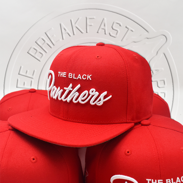 The Black Panthers Snapback - Red Rally Edition