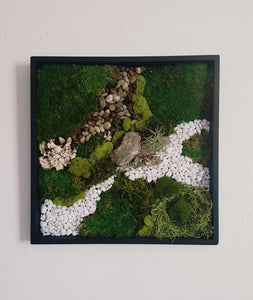 Wall Moss Nature Scape