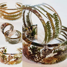 Load image into Gallery viewer, Moss & Lichen Cuff Bracelet